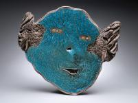 "Turquoise Platter 24"" Dia. SOFA 2008 ..."